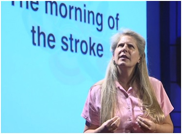 Jill Bolte Taylor's stroke of insight