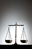 scales of justice referencing discernemnt