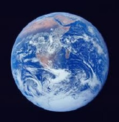 a picture of the earth from space referencing transformation and being brave enough to love