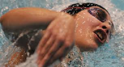 a swimmer in the water referencing appreciation